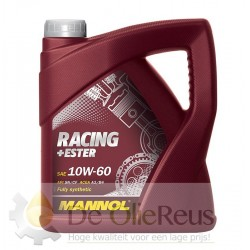 MANNOL Racing+Ester 10W-60 (4L)  Vol synthetische motorolie
