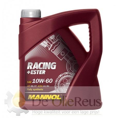 MANNOL Racing+Ester 10W-60 (4L)  Vol synthetische motorolie
