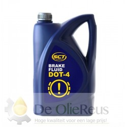 SCT Brake Fluid DOT-4 (5L) - Remvloeistof